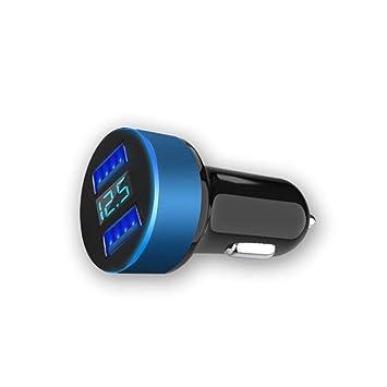 Kloius Cargador de Coche Doble Puertos USB Adaptador ...