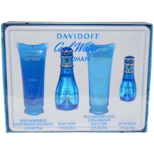 Davidoff Cool Water for Women Gift Set (Womens Cool Water)