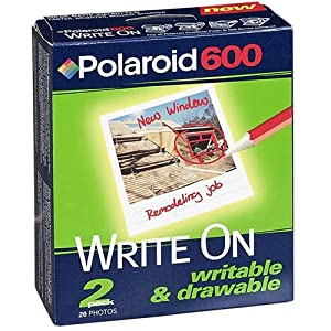 Polaroid 600 Write-On Color Film (2-Pack)