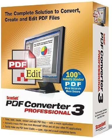Buy nuance scansoft pdf converter pro multilingual 7. 2 download.