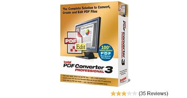 Télécharger scansoft pdf converter professionnal pour windows.