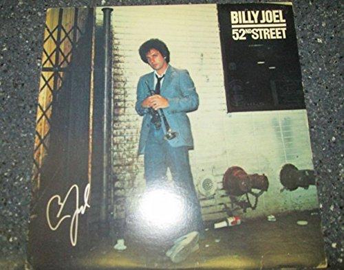 Billy Joel signed 52nd Street 12