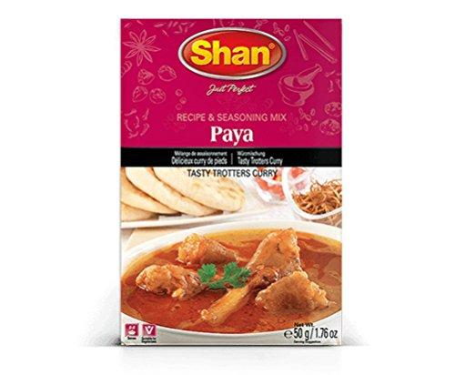 Shan Paya Seasoning Mix, 50 Grams (Pack of 6)