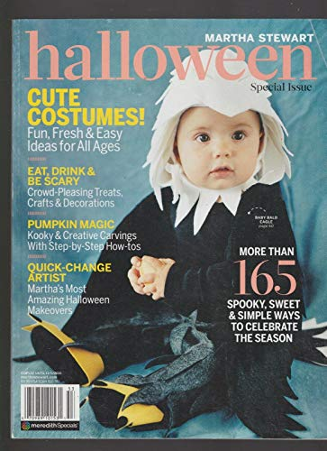 MARTHA STEWART HALLOWEEN MAGAZINE SPECIAL ISSUE COSTUMES!TREATS! TRICKS!2015 -