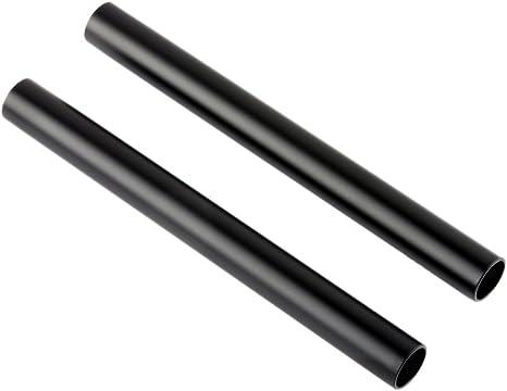 NICEYRIG Standard 15mm Aluminium Rods 15cm Lange M12 Gewinde f/ür Kamera Schulter Rig