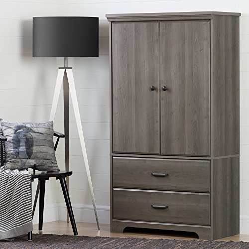 Review Of South Shore Versa 2-Door Armoire with Drawers