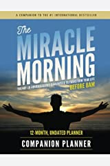 The Miracle Morning Companion Planner Paperback