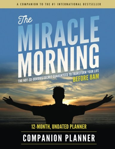 Miracle Morning Companion Planner product image