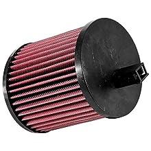 K & N e-0650 repuesto Filtro de aire, Rojo Coche