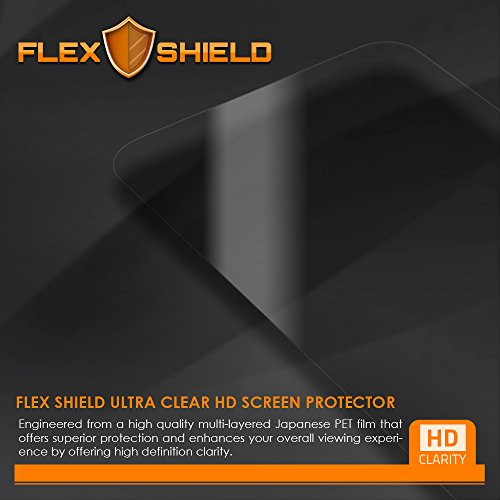 FlexShield [5-Pack] - BLU Selfie Screen Protector with Lifetime Replacement Warranty - Ultra Clear Japanese PET Film - Bubble-Free HD Clarity with Anti-Fingerprint & Scratch Resistance