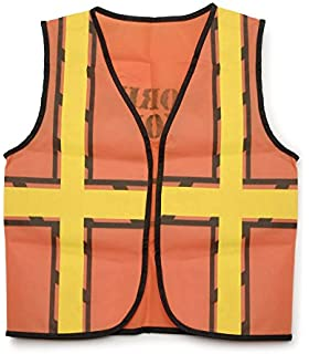 Darice 159 By 188 Dress Up Vest Construction Worker