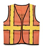 "Arts & Crafts : Darice 15.9"" by 18.8"" Dress Up Vest, Construction Worker"