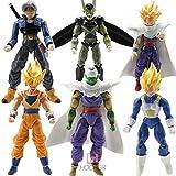 6pcs Anime Action Figure DBZ Toys Goku Piccolo Set