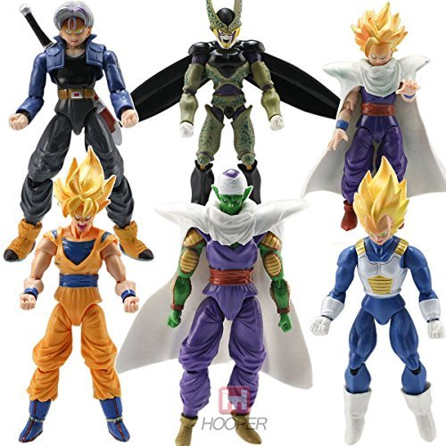 6pcs-Anime-Action-Figure-DBZ-Toys-Goku-Piccolo-Set