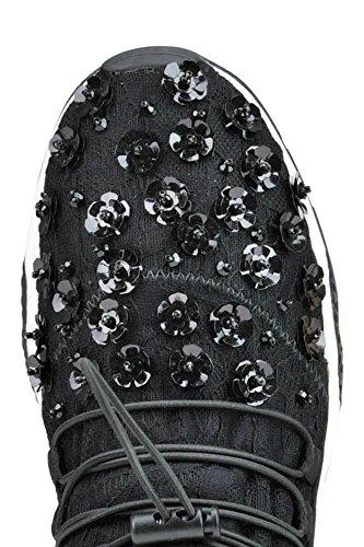 Ash Black Women's MCGLCAK03057E Sneakers Polyester YxqxXrwf