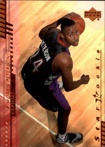 2000 Upper Deck Basketball Rookie Card (2000-01) #218 Morris Peterson Near Mint/Mint