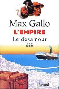 """Afficher """"L'Empire n° 3 Le désamour"""""""