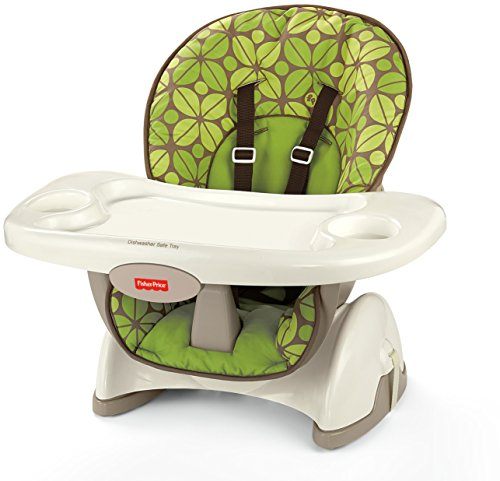 Fisher-Price SpaceSaver High Chair, Rainforest Friends (Chair Price Fisher High Girls)