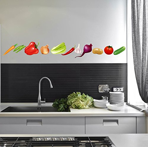 Vegetables Healthy Eating Kitchen Restaurant Wall Decal - 36