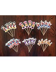 Mickey Mouse Clubhouse Cupcake Toppers Birthday Party Supplies set of 24