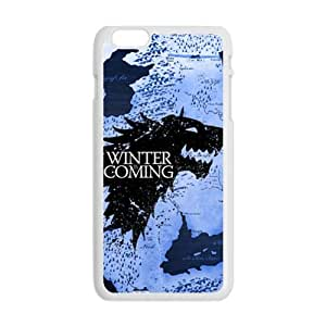 Winter coming map Cell Phone Case for iPhone plus 6 by lolosakes