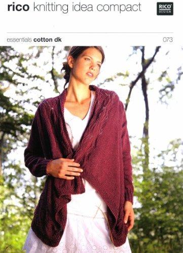 Cardigan in Rico Essentials Cotton DK - 073