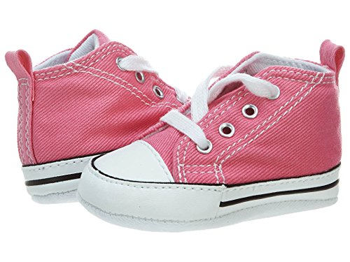 - Converse First Star Crib Shoes/Soft Bottoms Infants - Pink, 1 M US Infant