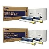 DNP 2x Print Media for DS-RX1HS High Speed Dye Sub Printer - 4x6'' 700 Prints Per Roll; 2 Rolls Per Case (1400 Total Prints)