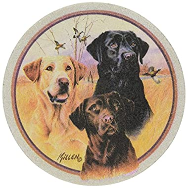 Thirstystone Drink Coaster Set, Great Hunting Dogs