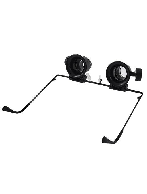 Amazon.com: eDealMax 5X luz LED de Doble lente lupa de la reparación del reloj vidrios de la lupa: Health & Personal Care