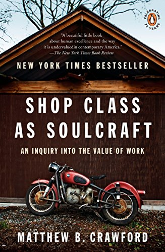 Pdf Politics Shop Class as Soulcraft: An Inquiry into the Value of Work