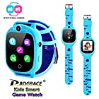 Prograce Kids Smart Game Watch with 90°Rotatable Camera Touch Screen Digital Wrist Watch