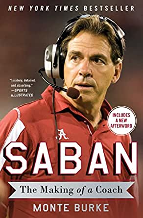 Image result for saban the making of a coach