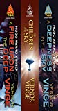 download ebook the zones of thought series: (a fire upon the deep, the children of the sky, a deepness in the sky) pdf epub