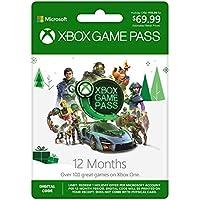 Microsoft Xbox Game Pass: 12 Month Membership [Digital Code]
