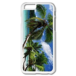 IPhone 6 Cases Palm Tree Along Sea Beach Design Hard Back Cover Cases Desgined By RRG2G