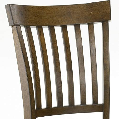 Hillsdale Arbor Hill Dining Chairs, Colonial Chestnut, Set of 2