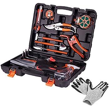 Garden tool set 12 pieces gardening hand for Ladies gardening tools gift set