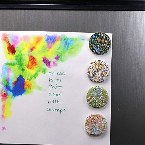 Amazon.com: buttonsmith® William Morris Art Imán Set, Fine ...