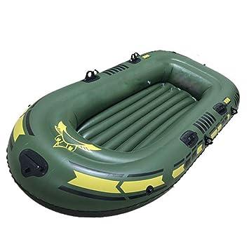 DMBHW Rafting al Aire Libre 3 Personas Fondo Duro Bote Salvavidas ...