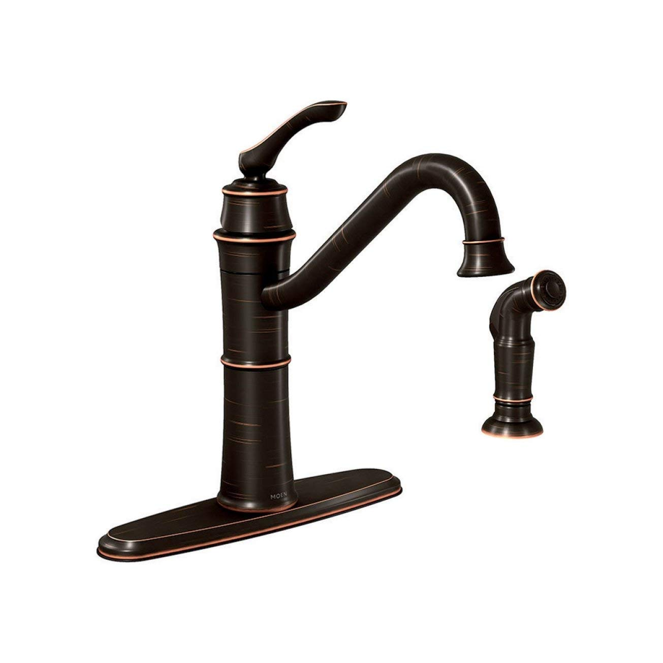 Moen 87999BRB Kitchen Faucet, 6.00 x 6.00 x 4.00 inches, Mediterranean Bronze