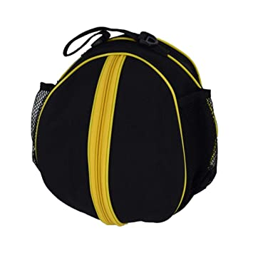 5d3c8b424905f Equipment Bags Sac de Basketball en Tissu Oxford Sac Rond Sac de Rangement  Professionnel Polyvalent et