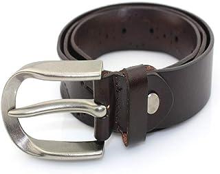 Cintura Donna Classica per Pantaloni Jeans Cintura in Pelle da Donna Cintura di Design Occidentale (Colore : caffè, Dimensione : M)