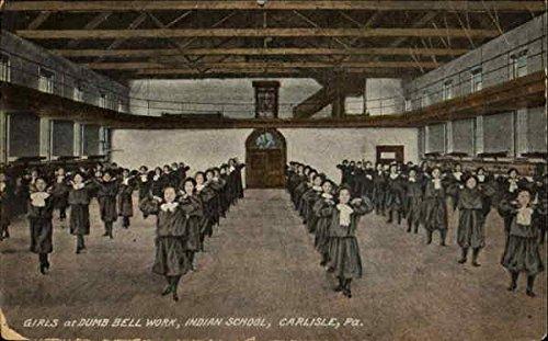 Girls At Dumb Bell Work Carlisle, Pennsylvania Original Vintage -