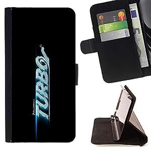 BullDog Case - FOR/Samsung Galaxy S3 Mini I8190Samsung Galaxy S3 Mini I8190 / - / Turbo /- Monedero de cuero de la PU Llevar cubierta de la caja con el ID Credit Card Slots Flip funda de cuer