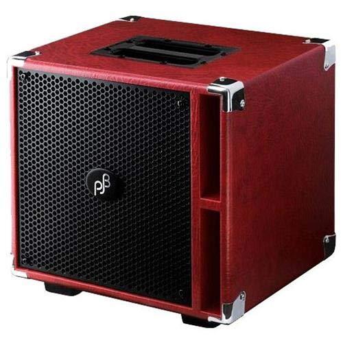 - Phil Jones Bass Compact 4 400W 4x5 Bass Speaker Cabinet Red
