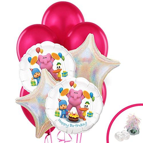 (Pocoyo Childrens Birthday Party Supplies - Balloon Bouquet)