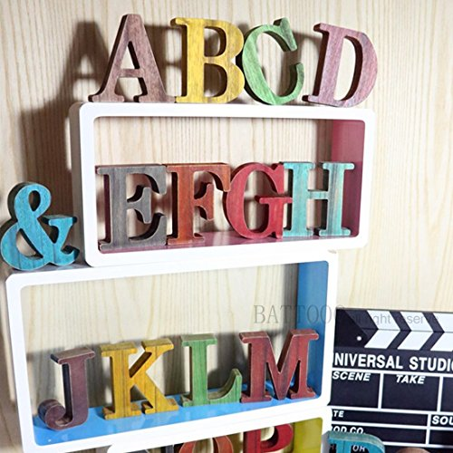 BATTOO Custom Handmade Wooden Letter 1
