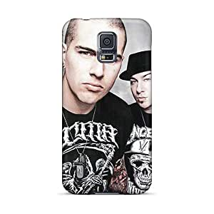 Great Hard Phone Cases For Samsung Galaxy S5 (DgH1343lCAN) Allow Personal Design Beautiful Avenged Sevenfold Band A7X Image