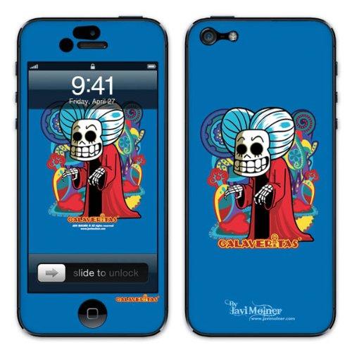 Diabloskinz B0081-0066-0038 Vinyl Skin für Apple iPhone 5/5S Vampire